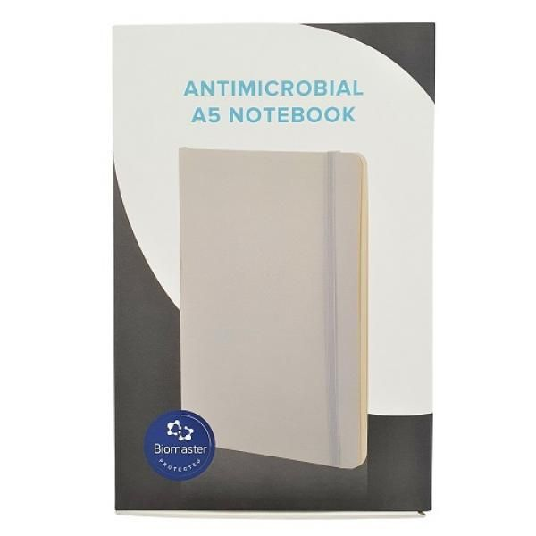A5 Size Anti-Bacterial Soft PU Notebook Office Supplies Other Office Supplies Notebooks / Notepads Other Office Supplies 20210908-antimicrobial_a5_notebook__with_packaging