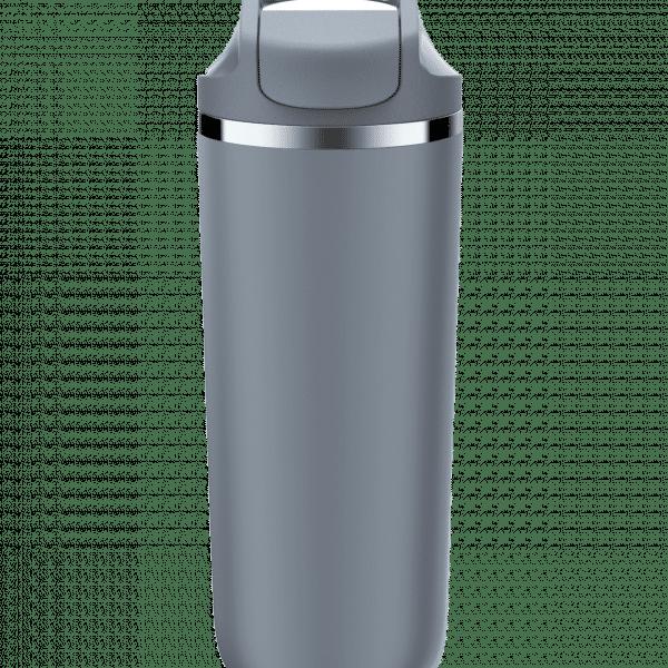 Artiart Suction Antelope Bottle (Stainless Steel) Household Products Drinkwares New Arrivals AntelopeDarkGreyFront