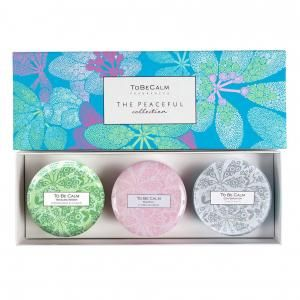 The Peaceful Collection - Mini Candle Trio Personal Care Products New Arrivals Other Personal Care Products ThePeacefulCollection_1