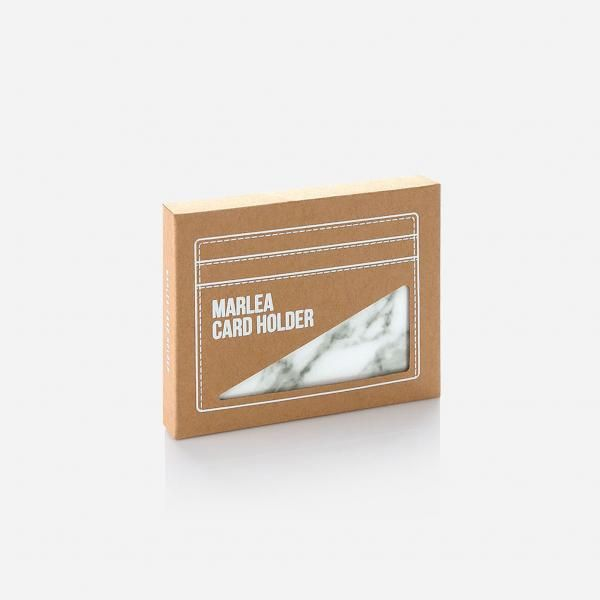 Marlea Card Holder - White Small Leather Goods Office Supplies Leather Holder Other Leather Related Products Other Office Supplies Other Office Supplies Productview31677