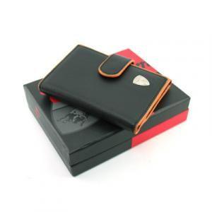 Lamborghini Tronca Keychain Holder Small Leather Goods Leather Holder Lam9815610