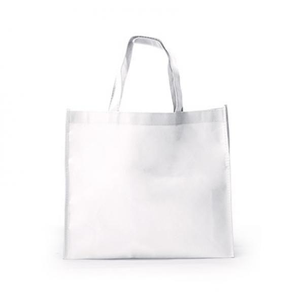 Landscape Non-Woven Bag Tote Bag / Non-Woven Bag Bags RACIAL HARMONY DAY TNW1001-WHT