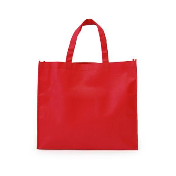 Landscape Non-Woven Bag Tote Bag / Non-Woven Bag Bags RACIAL HARMONY DAY TNW1001Red