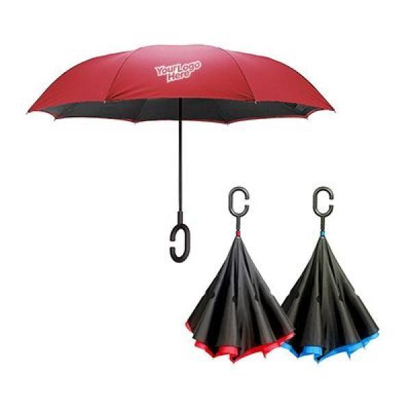 Ernesto Inverted Umbrella Umbrella Straight Umbrella Best Deals UMS1001_Thumb_3