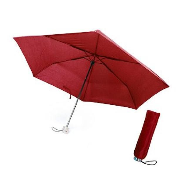 Rexiex Foldable Umbrella Umbrella Foldable Umbrellas NATIONAL DAY UMF1202Red