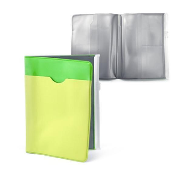 Kaytone PVC Passport Holder Travel & Outdoor Accessories Other Travel & Outdoor Accessories YLU1021Grn