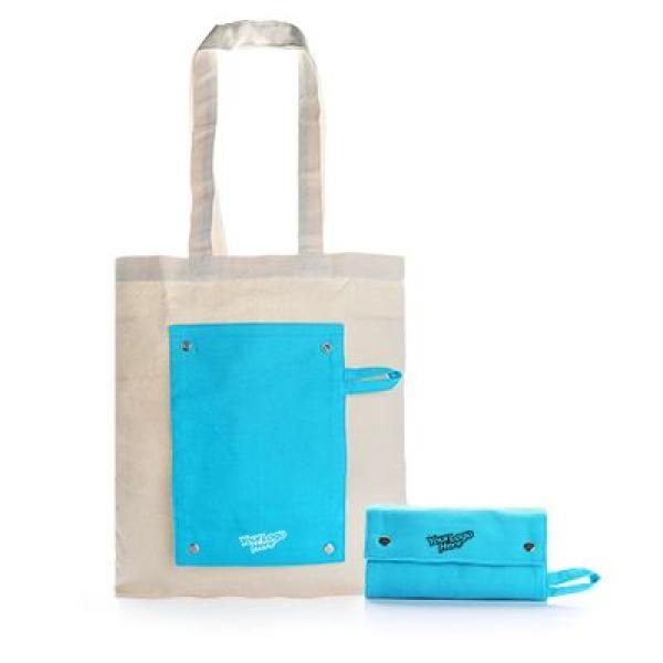Foldable Canvas Tote Bag Tote Bag / Non-Woven Bag Bags TNW1021-GRP_3