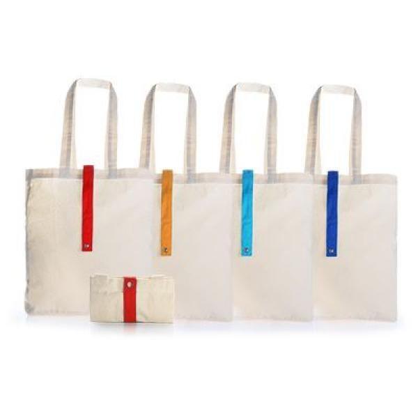 Foldable Cotton Tote Bag Tote Bag / Non-Woven Bag Bags RACIAL HARMONY DAY TNW1024GRP
