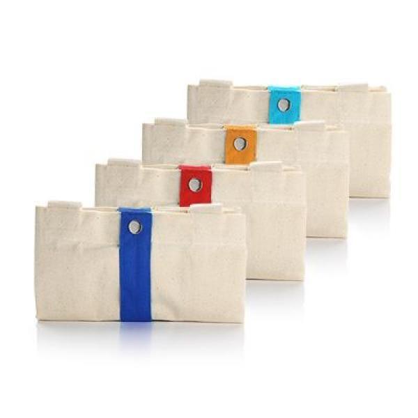 Foldable Cotton Tote Bag Tote Bag / Non-Woven Bag Bags RACIAL HARMONY DAY TNW1024GRP_2
