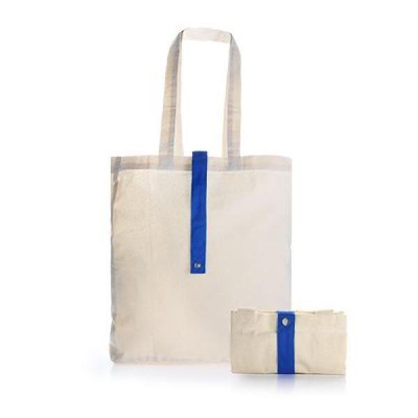 Foldable Cotton Tote Bag Tote Bag / Non-Woven Bag Bags RACIAL HARMONY DAY TNW1024DBLU