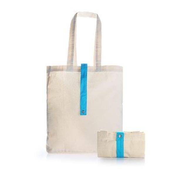 Foldable Cotton Tote Bag Tote Bag / Non-Woven Bag Bags RACIAL HARMONY DAY TNW1024LBLU