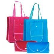 Foldable Shopping Bag w Button Tote Bag / Non-Woven Bag Bags TFS2003