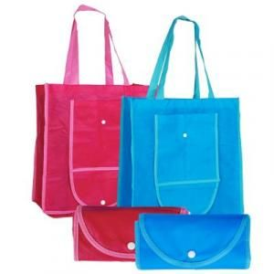 Foldable Shopping Bag w Button Tote Bag / Non-Woven Bag Bags TFS2003