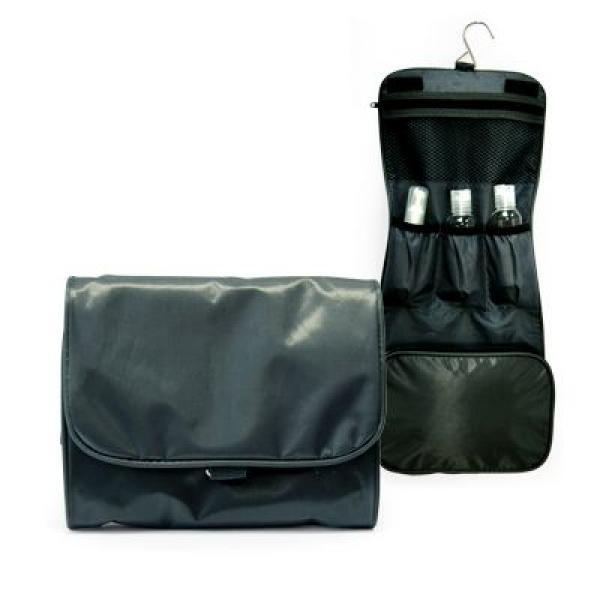 Preston 3 Fold Toiletries Pouch Small Pouch Bags Best Deals TSP1052Blk