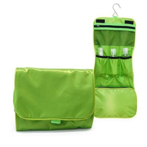Preston 3 Fold Toiletries Pouch Small Pouch Bags Best Deals TSP1052Grn