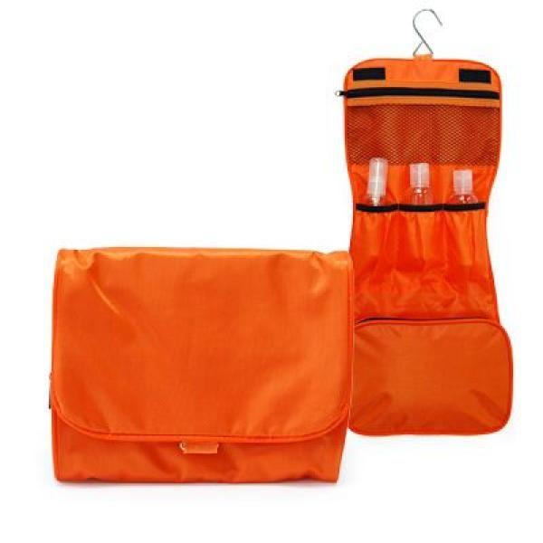 Preston 3 Fold Toiletries Pouch Small Pouch Bags Best Deals TSP1052Org