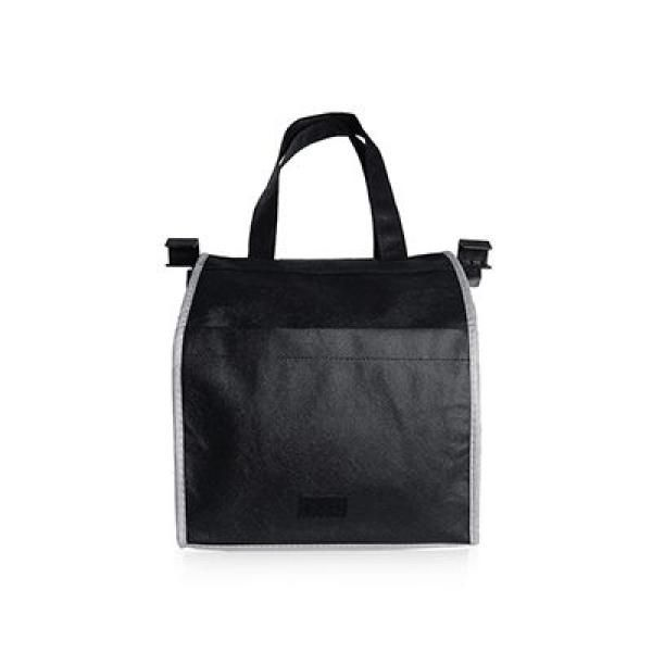 Sunlux Foldable Trolley Shopping Handbag Tote Bag / Non-Woven Bag Bags Best Deals Give Back TNW1016-BLK