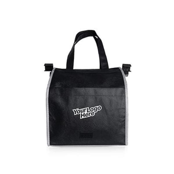 Sunlux Foldable Trolley Shopping Handbag Tote Bag / Non-Woven Bag Bags Best Deals Give Back TNW1016-BLK_2