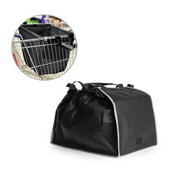 Sunlux Foldable Trolley Shopping Handbag Tote Bag / Non-Woven Bag Bags Best Deals Give Back TNW1016-BLK_3