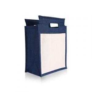 Zamtan Jute Bag - Blue Other Bag Bags TNW1026_Thumb3