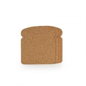 Toast Bread Coaster Household Products Kitchenwares YOS1073-CRK-PG