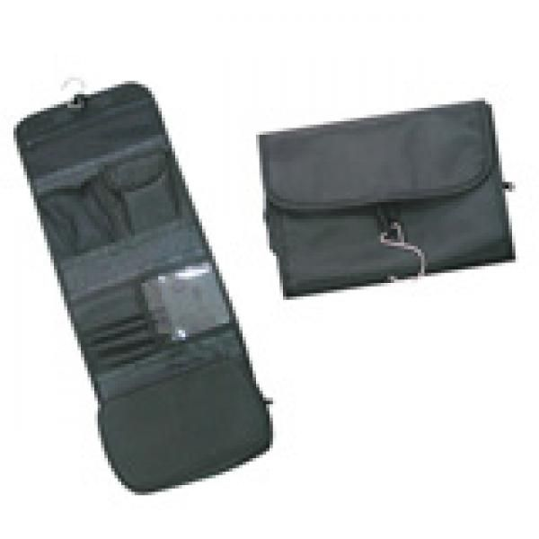 3 Fold Toiletries Pouch Small Pouch Bags TSP1015-BLK
