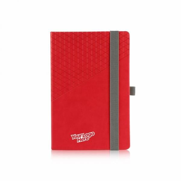 Diamanten Lybro Geometric Notebook Printing & Packaging Notebooks / Notepads ZNO1029-REDHD_2