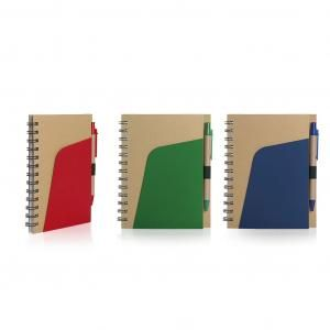 Eco-Friendly Notebook  Pen and Pocket Eco Friendly ZNO1028-GRPHD