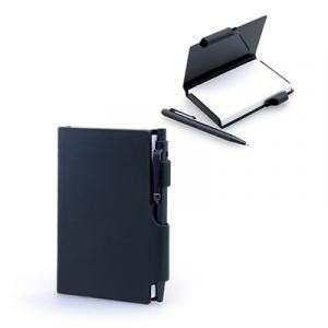 Damplus Mini Hard Cover Notepad With Pen Printing & Packaging Notebooks / Notepads JNO1026