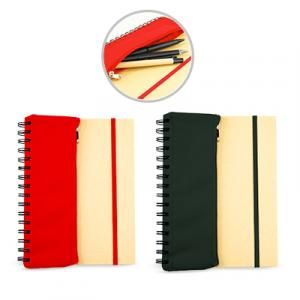 Jonzelle Notebook with Pouch Printing & Packaging Notebooks / Notepads Best Deals JNO1023_Group