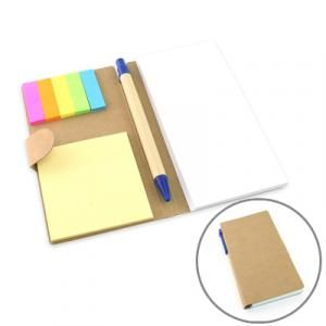 Eco-Friendly Notepad with Pen Printing & Packaging Notebooks / Notepads JNO1003