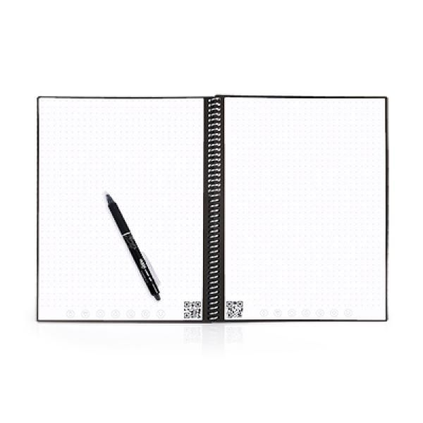 Rocketbook Everlast - Lettersize Office Supplies Other Office Supplies Crowdfunded Gifts Earth Day ZNO1033-BLK_3