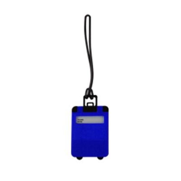 Frusted Luggage Tag Travel & Outdoor Accessories Luggage Related Products OLR1006_blue
