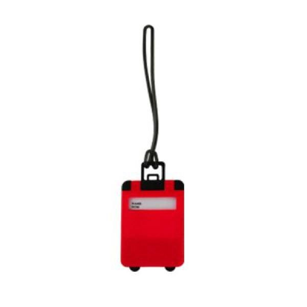 Frusted Luggage Tag Travel & Outdoor Accessories Luggage Related Products OLR1006_red
