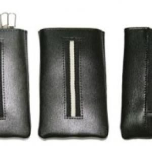 West Side Leather Key Pouch Small Leather Goods Other Leather Related Products LKP002BK