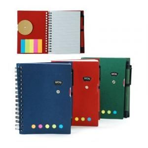 Notebook with Sticky Notes and Pen Printing & Packaging Notebooks / Notepads ZNO1016