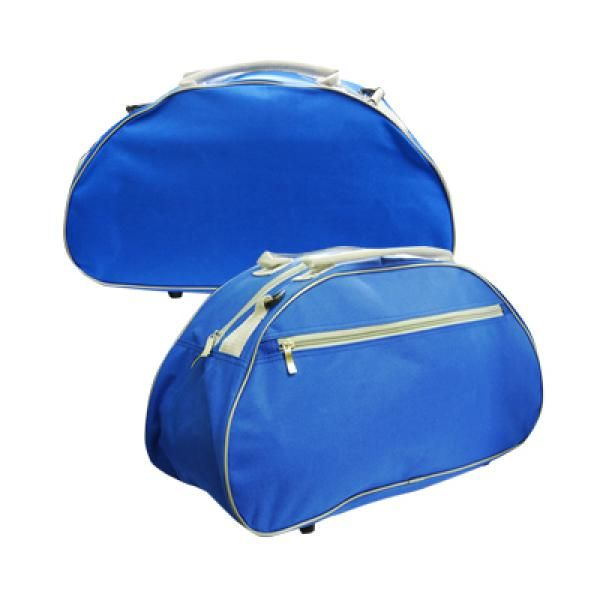 Travel Bag w Shoe Compartment Shoe Pouch Bags TTB039_blue