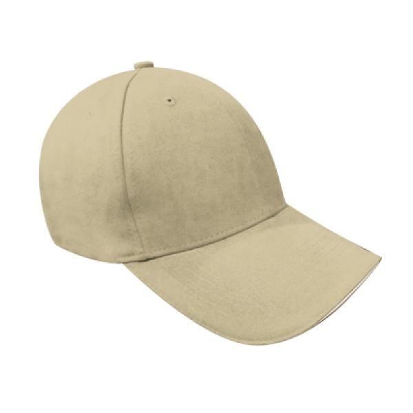 Cotton Till Cap  Sandich&Silver Buckle-AP Headgears CAP1105BEI