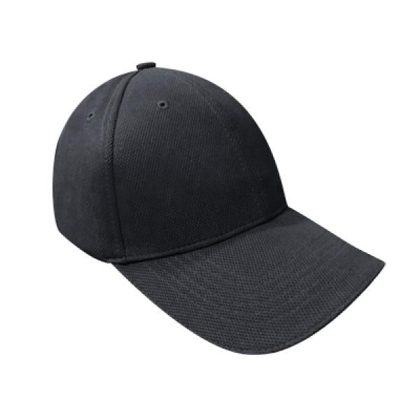 Cotton Till Cap  Sandich&Silver Buckle-AP Headgears CAP1105BLK