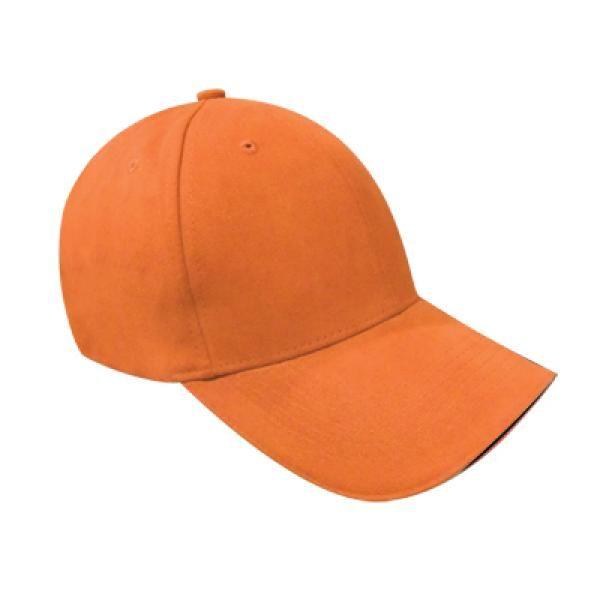 Cotton Till Cap  Sandich&Silver Buckle-AP Headgears CAP1105ORG
