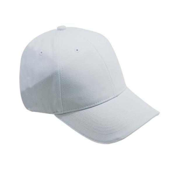 Cotton Till Cap  Sandich&Silver Buckle-AP Headgears CAP1105WHT