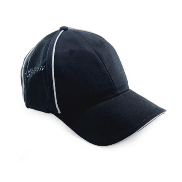 Cotton Twill Unbrushed Cap Headgears CAP1110Blk