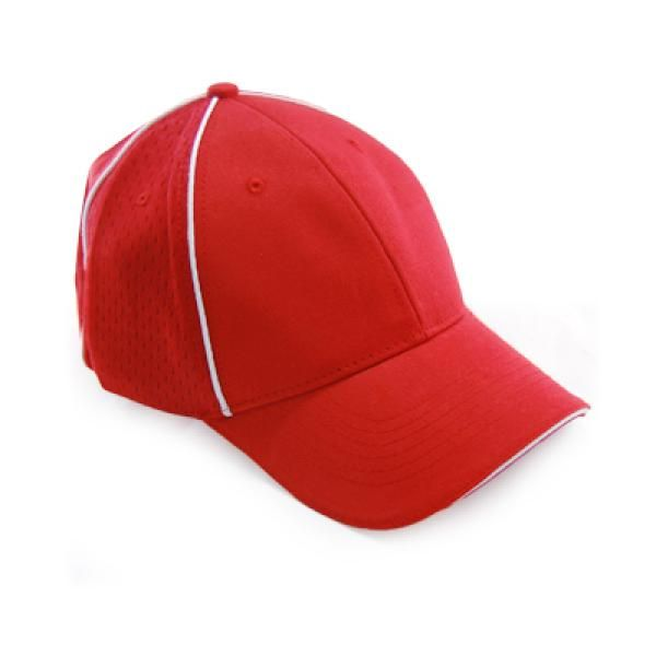 Cotton Twill Unbrushed Cap Headgears CAP1110Red