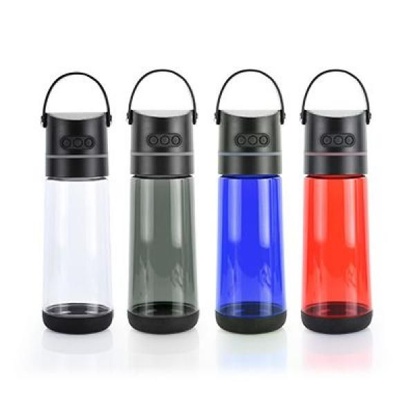 OSSI Soundtek Fusi Bottle with Bluetooth Speaker(Transparent Electronics & Technology Household Products Drinkwares Best Deals HARI RAYA NATIONAL DAY HDB1037GRP