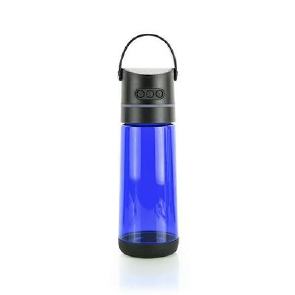 OSSI Soundtek Fusi Bottle with Bluetooth Speaker(Transparent Electronics & Technology Household Products Drinkwares Best Deals HARI RAYA NATIONAL DAY HDB1037-BLU