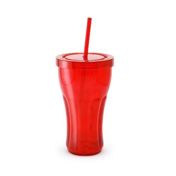 Overla Tumbler With Straw Household Products Drinkwares Best Deals NATIONAL DAY HDT1001Red