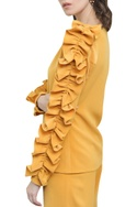 Full Sleeve Top With Frill Detail
