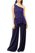 One Shoulder Wide Legged Jumpsuit