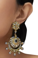 Amrapali Baroque Cresent Earrings