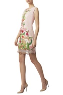 Hand embroidered short dress